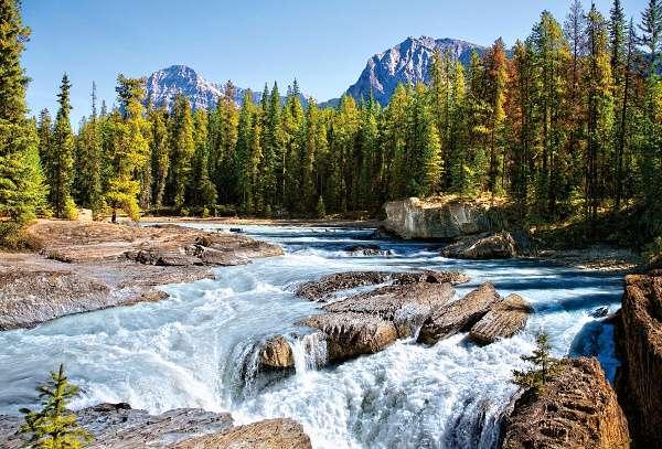 Castorland - Kanada - Athavasca - národní park Jasper - - Puzzle 1500 dílků art. 150762