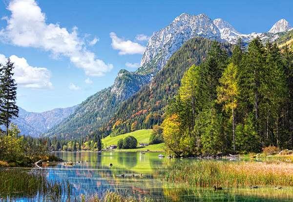Castorland - Útočiště pod Alpami - Puzzle 3000 dílků 300273
