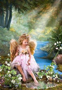Castorland - Zlatý  anděl - Puzzle 1500 dílků