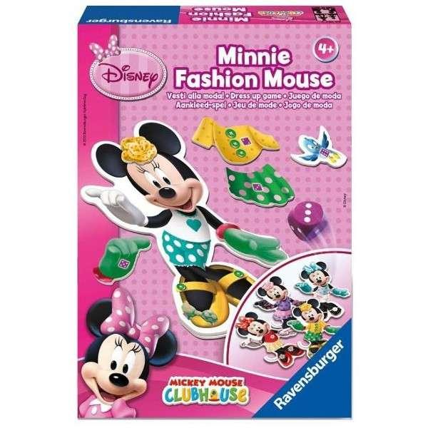 Hra - Minnie Fashion Mouse - Ravensburger - oblékání Minnie