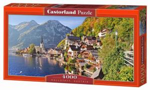Puzzle 4000 dílků - Hallstatt - Rakousko -  Castorland