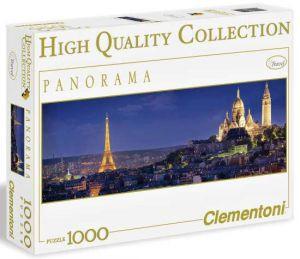 Puzzle Clementoni 1000 dílků - Paříž  - panorama