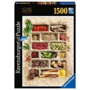 puzzle Ravensburger  1500 dílků  Koření v kameni 162659