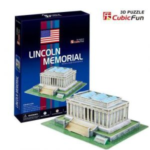 3 D Puzzle CubicFun - Lincoln Memorial  Washington  41 d.