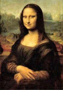 1000 dílků  - Da Vinci - Mona Lisa-   puzzle Ravensburger