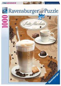 1000 dílků  -  Latte Macchiato  -   puzzle Ravensburger