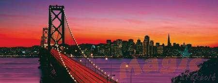 puzzle Ravensburger 1000 dílků panorama - San Francisco - 151042