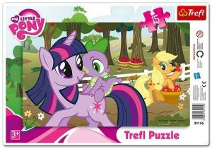 15 dílků  My Little Pony  - deskové puzzle Trefl  31155