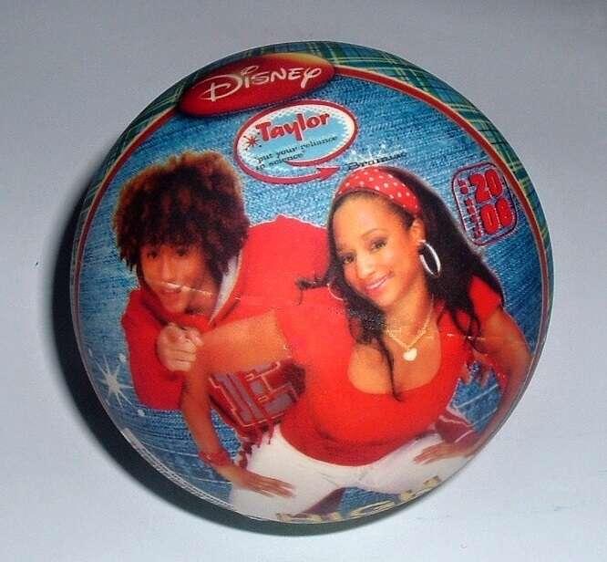Gumový míč 10 cm - High School Musical John
