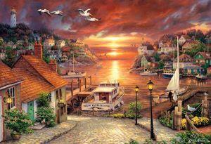 Puzzle Clementoni 2000 dílků - Nové obzory