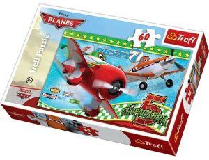 60 dílků - Letadla - Planes  -  puzzle   Trefl