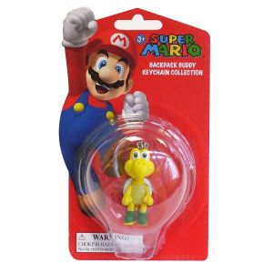 Super Mario Bros -  5 cm figurka Koopa s karabinkou